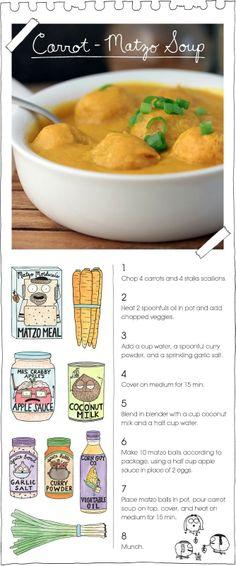 The Vegan Stoner-Carrot Matzo Soup