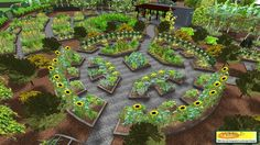 mandala permaculture garden design
