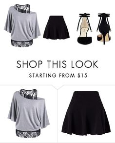 """""""idk"""" by kyle-david-hall453 on Polyvore featuring Miss Selfridge and Nine West"""