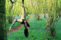 Yasmin Black training Aerial Hoop Lyra wearing Arm and Leg Garter by Wink Dancewear Yoga Wear, Gym Wear, Dance Wear, Aerial Hoop, Aerial Arts, Pole Dancing Clothes, Summer Prints, Funky Fashion, Second Skin