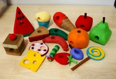 Felt Patterns - The Very Hungry caterpillar Set