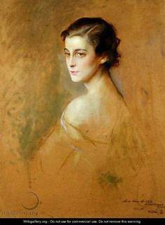 Philip de László - Princess Marina of Greece 1906-1968  (485×660)