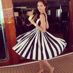 @zzkaterina #stripes #stripedress #yacht #yachting #boat #fashion #fashionista #fashionblog #fashionblogger #fashioninspiration #brunette #happygirl #itgirl #russiangirl #luxurylife #luxuryfashion #luxuryblog