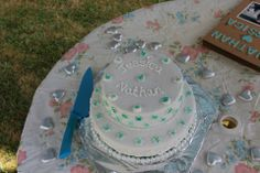 Our Engagement Cake Made by: Carolyn Watt