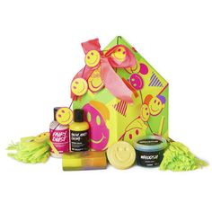 Happy christmas gift lush products