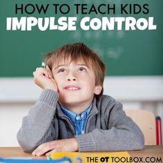 Self-control strategies for kids