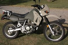 Worthy KLR650 Photos, Mods, Paint Schemes