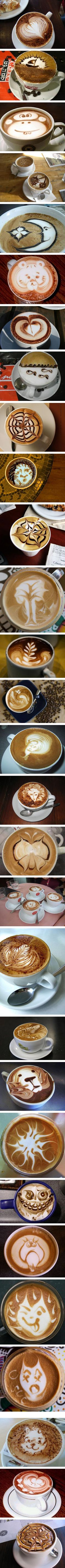Beautifully Delicious Coffee Designs