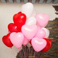"littlealienproducts: ""Heart Shaped Balloons from Banggood """