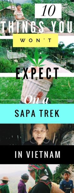 Sapa Trek with the Hill-Tribes in Vietnam: 10 Things You WON'T Expect! Everything you need to prepare for surprises while trekking in the rice terraces of Vietnam.