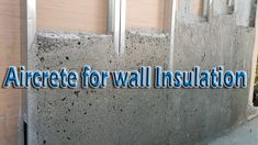 Aircrete for wall Insulation Natural Building, Green Building, Building A House, Building Ideas, Types Of Concrete, Concrete Forms, Autoclaved Aerated Concrete, Aac Blocks, Monolithic Dome Homes