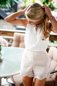 Preppy Summer Outfit / OliviaRink.com