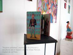 """Marzo de 2016 """"Mujeres pintadas"""", exposición en el showroom. Espacio de arte Diego Manuel. Sala blanca"""