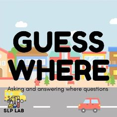 Boom Cards - Guess Where: Asking and Answering Where Questions Places In The Community, Questions To Ask, This Or That Questions, English Language Arts, Picture Cards, All Icon, Speech Therapy, Special Education, Deck