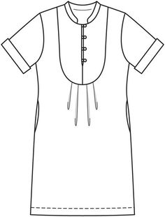 Платье - выкройка № 143 из журнала 6/2013 Burda – выкройки платьев на Burdastyle.ru