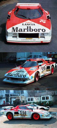 1976 Lancia Stratos Turbo / group 5 liveries / Italy / red white / Marlboro