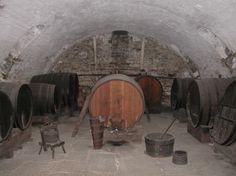 Old Economy wine cellar Ambridge PA