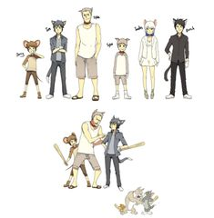 tom and jerry anime human | Tom And Jerry Anime by bluelov08