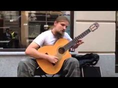 ▶ Best Street Guitar Player Ever [FEBRUARY 2013]