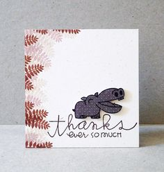 card by SPARKS DT Angeline--using Zoo Crew and Pretty Phrases stamp sets   Paper Smooches SPARKS: July 9-15 Designer Drafts challenge