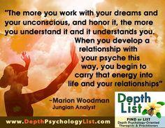 Marion Woodman on dreams: