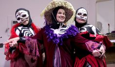San Juan Bautista, CA ~ El Teatro Campesino kicks off its 50th Anniversary with the celebrated dance troupe Esperanza del Valle to perform for El Teatro's Dia de los Muertos Celebration October 1 - November 1, 2015.
