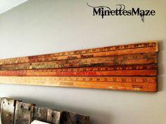 My Montana Wall Art! DIY Yardstick Wall Decor Tutorial!!