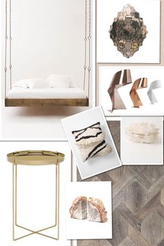 Bedroom, wood, gold, marble, dream, Conran, heals, autoban, tom dixon, lee broom, kelly wearstler. Wordpress: Room for a Pony / Twitter: roomforapony / Facebook: Room for a Pony