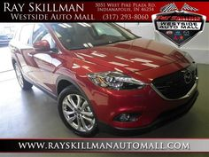 2013 Mazda Cx-9 GrandTouring Grand Touring SUV 4 Doors Red for sale in Indianapolis, IN http://www.usedcarsgroup.com/indianapolis-in/2013-mazda-cx9-jm3tb3da3d0418481.html