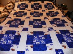 University of Kentucky Quilt by jajos on Etsy, $65.00