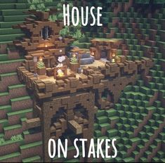 Minecraft Building Guide, Minecraft House Plans, Easy Minecraft Houses, Minecraft House Designs, Minecraft Decorations, Amazing Minecraft, Minecraft Blueprints, Minecraft Creations, Minecraft Crafts