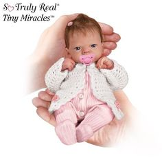 Tiny Miracles Linda Webb Celebration Of Life Emmy Realistic Baby Doll: So Truly Real by Ashton Drake by Ashton Drake,  I enjoy crocheting for for her.