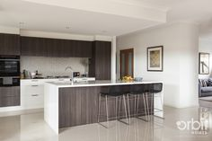 Orbit Homes Acacia 34 - Kitchen! KITCHEN CONFIDENCE: This Kitchen has a large island bench that over looks the Dining & Living area, so you won't miss a thing when playing Master Chef... Dont forget the large walk-in pantry equipped for all your cooking needs!