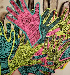 5th Grade: henna ideas