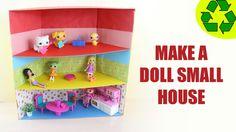 How to Make a Mini Dollhouse  - ver 1 - SUPER EASY
