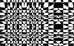 Op art created with SymmetryWorks