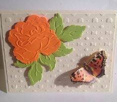 Created with Anna Griffin Die and Embossing folder