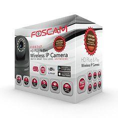 Foscam FI9826PB Plug and Play, 1.3 Megapixel, 1280 x 960 Pixels, 3x Optical Zoom H.264, Pan/Tilt Wireless IP Camera (Black)  http://www.lookatcamera.com/foscam-fi9826pb-plug-and-play-1-3-megapixel-1280-x-960-pixels-3x-optical-zoom-h-264-pantilt-wireless-ip-camera-black-2/
