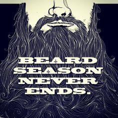 johnartcore - Beard season never ends - beard art beards bearded man men #truth #realmenwearbeards #beardsforever