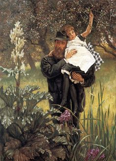 The Widower, James Tissot (1836-1902, French)
