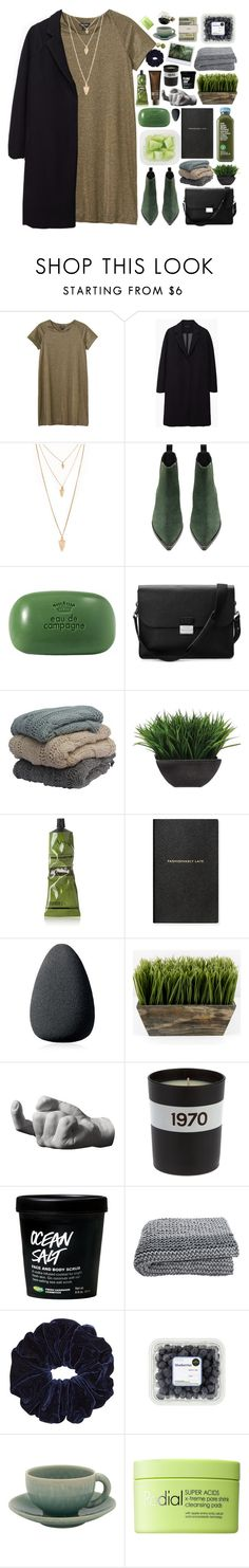 """""""empty promises"""" by lanadelnotyou ❤ liked on Polyvore featuring Monki, The Row, Forever 21, Acne Studios, Sisley, Aspinal of London, Lux-Art Silks, Aesop, Smythson and Christian Dior"""