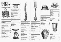 Lovely menu design @Roos Versantvoort Versantvoort Versantvoort Monde I thought you might like this, too!