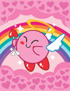 Cupid Kirby by VampireJaku on deviantART