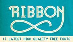 17 Latest High Quality Free Fonts