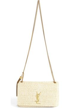 f742cb6cf074 Free shipping and returns on Saint Laurent  Monogram  Grained Leather  Shopper at Nordstrom.