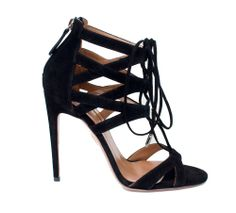 The Social Butterfly Gift Guide - Aquazzura sandals, $745, saks.com.