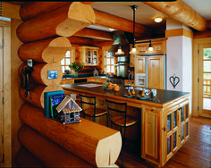 Thinking about building or updating a log home? Here are areas to think about as you begin visualizing your kitchen.