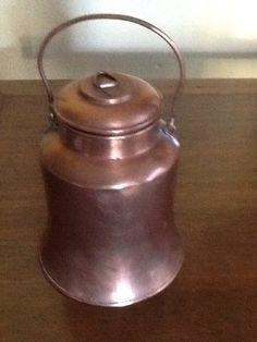 Vintage Copper Tea Caddy by ContemporaryVintage on Etsy, $30.00