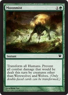 Magic: the Gathering - Moonmist - Innistrad by Wizards of the Coast. $0.43. From…