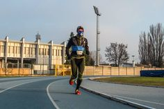 Test #VO2MAX performed with @cosmedhq  K4b2 by #sport #trainer Paolo Negrini on athlete of the X-Bionic #Running Team (foto Ester Ruzzante).
